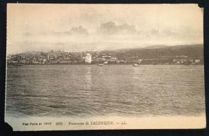 Postcard Unused Vise Paris no 2848 905 Panprama de Salonique LL LB