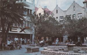CURACAO, 1940-1960´s; De Ruyterplein Square, Fountain