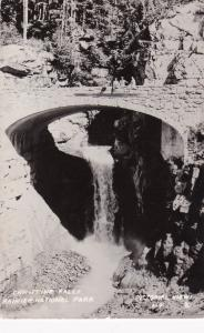 RP: Stone Bridge, Christine Falls, Rainier National Park, Washington, PU-1947