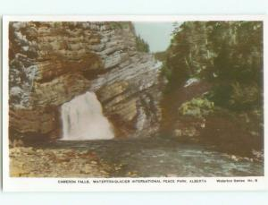 old rppc NICE VIEW Waterton Park - Near Lethbridge Alberta AB W0809