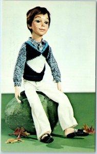 Vintage DOLL Toys Postcard Charles by N.I.A.D.A. Artist Judy Congdon c1960s