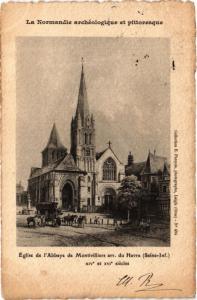 CPA Église de l'Abbaye de Montivilliers arr. du HAVRE (349180)