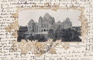 TORONTO , Ontario , Canada , 1904 ; Parliament Buildings