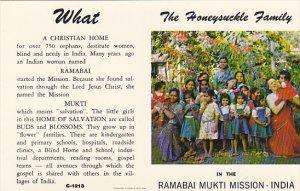 The Honeysuckle Family Ramabai Mukti Mission India