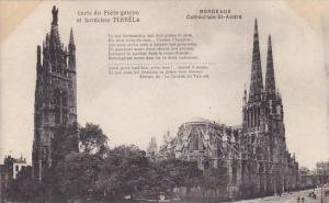 France Bordeaux Cathedrale Saint Andre