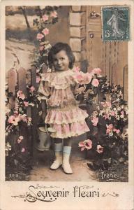 Souvenir fleuri flowers, fleurs, girl, fille, vintage
