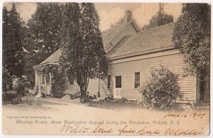 Washington Stopped, Whorton House, Fishkill NY