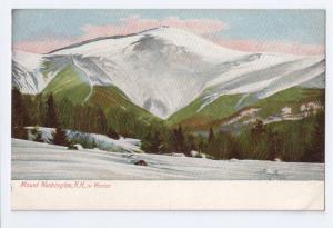 Mount Washington in Winter White Mountains NH Leighton c1910
