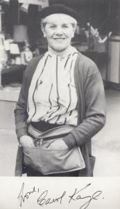 Carol Kaye Miriam Ransome Albion Market Vintage Printed Signed Photo Cast Card