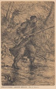 War 1914-18 ; Infanterie - Armee Belge