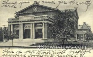 First Church of Christian Scientist in St. Louis, Missouri