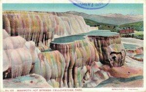 USA Mammoth Hot Springs Yellowstone Park 04.20