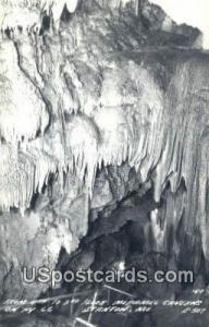 Real Photo - Meramec Caverns Stanton MO Unused