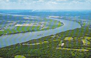 Kentucky Aerial View Of The Ohio River
