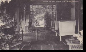 Vermont Porch On Main House The Putney School Artvue