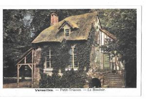 France Versailles Petit Trianon Le Boudoir Postcard