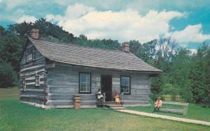 Peter McArthur Log House, Doon Pioneer Village,  Kitchener, Ontario,  Canad...