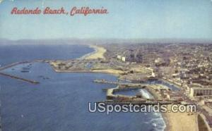 Redondo Beach, CA Postcard       ;       Redondo Beach, California Post Card