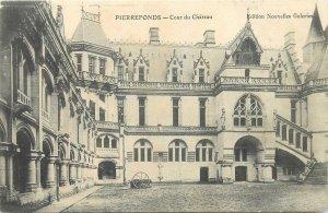 Postcard France Pierrefonds