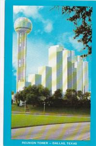 Texas Dallas Reunion Tower