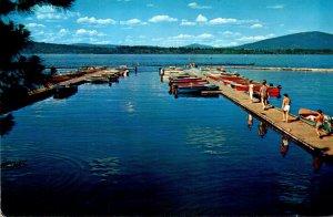 California Lake Almanor Boat Dock