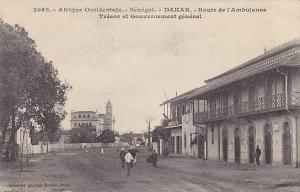 Afrique Occidentale,Route De l'Ambulance,Tresor Et Gouvernement General,Dakar...