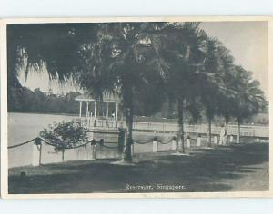 old rppc DOCK BY THE RESERVOIR country of Singapore HM2121