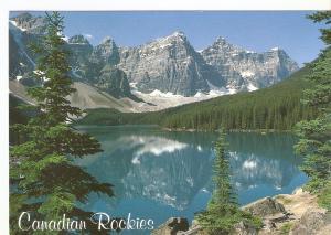 Postal 046773 : Banff National Park. Moraine Lake (Canada)