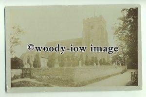 cu1871 - St. Peter's Church & Cemetry in Henfield, Shermanbury, Sussex- Postcard
