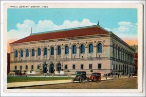 Library, Boston MA
