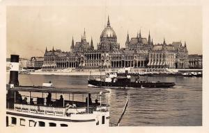 Hungary Budapest Orszaghaz, Parlament, Parliament, Ships 1937