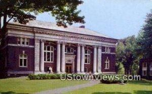 Coram Library, Bates College in Lewiston, Maine
