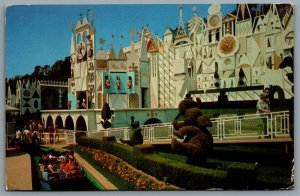 Postcard Anaheim CA c1978 Disneyland It's A Small World Toy Parade 01110462