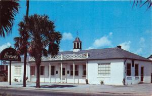 Charleston South Carolina~Everett's Restaurant~William Deas She Crab Soup~'50s