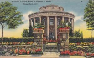 Alabama Birmingham Vestavia Country Home Of George B Ward