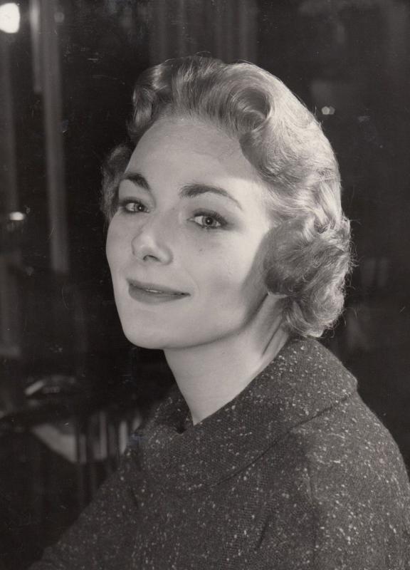 Ann Sears Nurse in Bridge On The River Kwai Film Movie 1957 Advance Press Photo