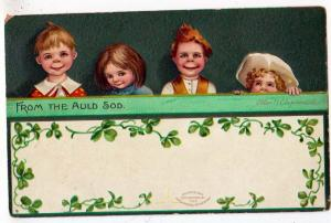 St Patrick's Day, From The Auld Sod, Ellen H Clapsaddle,