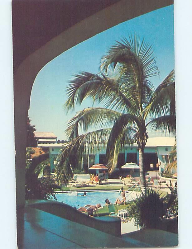 Unused Pre-1980 BEACH SCENE Port-Au-Prince Haiti F6251@