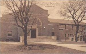 Minnesota Minneapolis Womens Gymnasium University of Minnesota Albertype