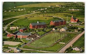 University of Wichita, KS Postcard w/ Army Censor Postmark