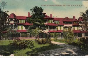 Warm Springs Hotel on Line A. B. & A. R. R., PU-1910