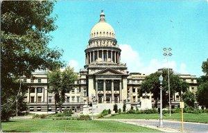 Idaho State Capitol Boise Idaho Vintage Postcard Standard View Card