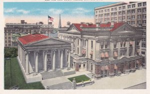 DAYTON, Ohio, 1930-1940s; Old And New Court House