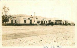 1926 Mojave Desert Center Cafe Store Gas Station Frasher RPPC Photo Postcard