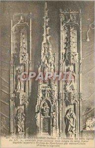 Postcard Old St Jean de Maurienne (Savoy) ciborium of Ogival Style XV S