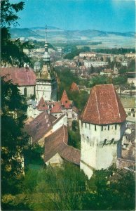 Europe Romania postcard vedere Cetatea Sighisoara
