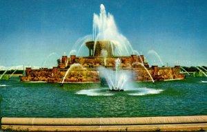 Illinois Chicago Grant Park Buckingham Fountain