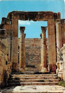 B29402 Jerash Cathedral`s Steps and Columns Kingdom of Jordan