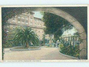 Divided-back HOTEL SCENE Pasadena - Los Angeles California CA AE2270