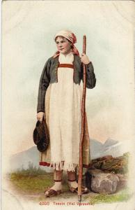 Local Girl , Tessin (Val Verzasca) , Switzerland , 00-10s